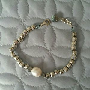 Jewelry - Silver Bead Labradorite Bracelet